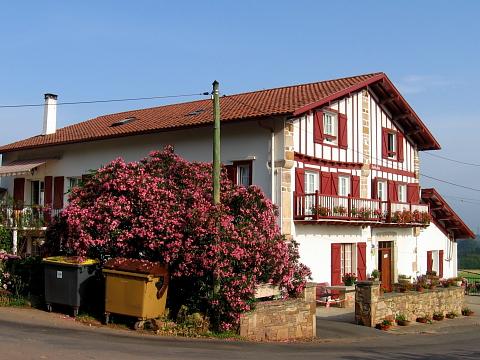 Pyrenees pays basque hendaye olhette olhette - Maison close pays basque ...