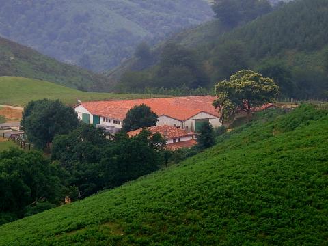 pyrenees pays basque ainhoa bidarray ferme esteben. Black Bedroom Furniture Sets. Home Design Ideas